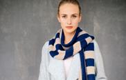 Stricken: Schal längs & quer