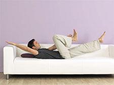 Der Käfer Sofa-Workout GU