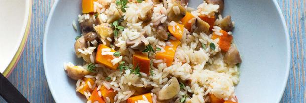 Veganes Abendessen zum Weltvegantag