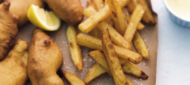 Lafer-Rezepte: Fisch and Chips