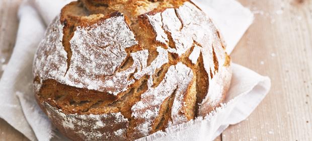 Brotzeit-Rezept: Rustikales Bauernbrot