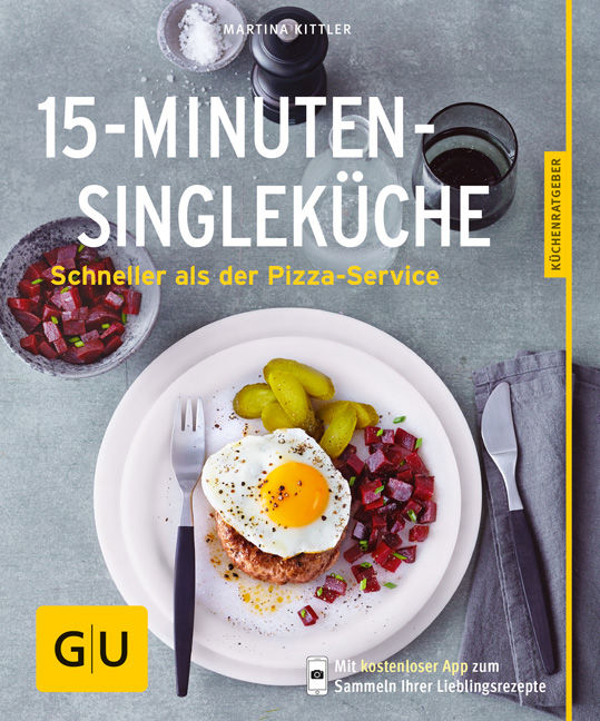 15-Minuten-Single-Küche - Buch - - GU