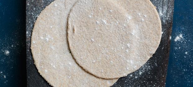 Veganer Vorrat: Hefeteigboden zum Einfrieren