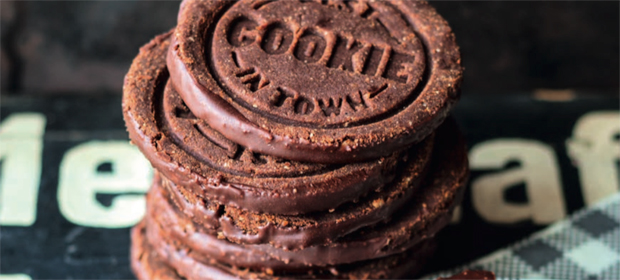 Vegane und rohe Cookies