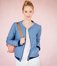 Collegejacke DIN A4
