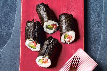 Schnelle Rezepte: Sushi-Burrito