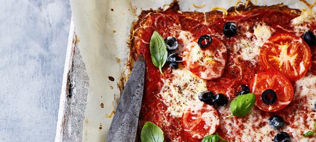 Diät-Rezept für Pizza