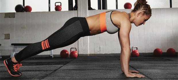Fitnessübung zum Abnehmen