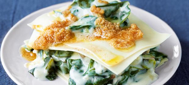 Frühlingsrezept: Mangold-Lasagne