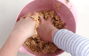 Kunterbunte Cookie-Kugeln: Step 2