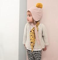 Mütze und Schal Originalgröße