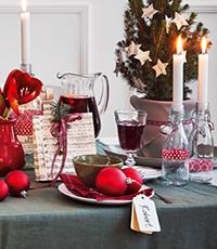 Weihnachten Küche