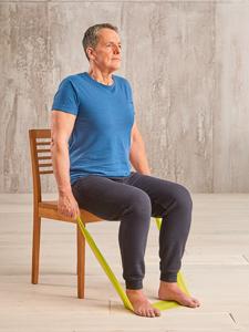 Pilates-Übungen fürs Alter: Shoulder Circles