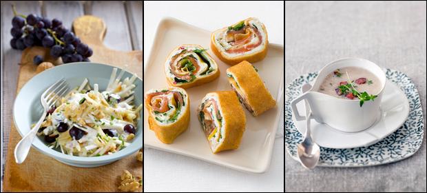 Festliche Menüs: Vorspeisen für Weihnachten und Silvester