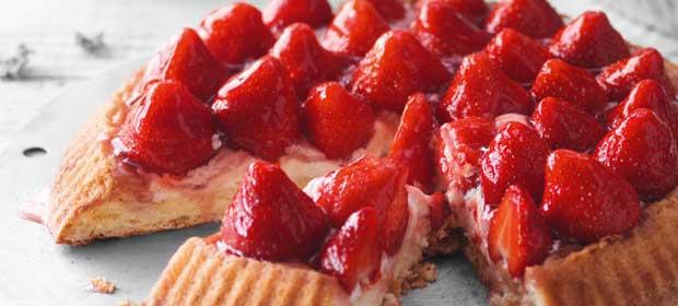Erdbeer-Rezept: Erdbeerkuchen