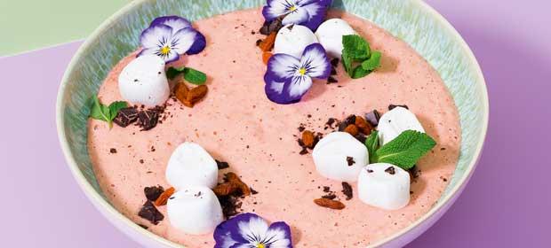 Erdbeeren-Rezept: Sweet Good-Morning-Bowl