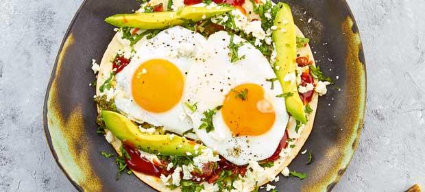 Grillrezept: Tortillas Huevos Rancheros