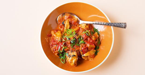 Abendessen: Indisches Butter Chicken aus Delhis Küchen