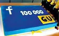 GU Facebook 10.000 Fans