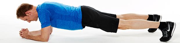 Schritt 1: Plank