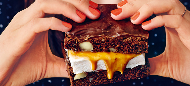 Cheat Day-Rezept: Brownie-Eisecken