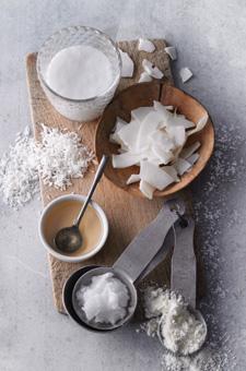 Superfood Kokosnuss: Produkte der Kokosnuss für die Küche