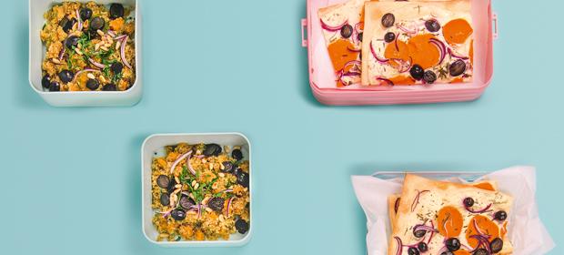 Süßkartoffeln aus Topf und Ofen: 4 x Lunch in nur einer Stunde