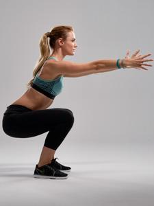 Squats: Übung für den Po