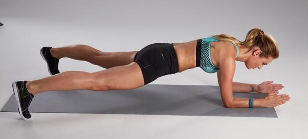 Plank: Übungen für den Po