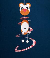 Tanzbär Basteln mit der Maus GU