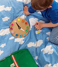 Uhrenpuzzle Basteln mit der Maus GU