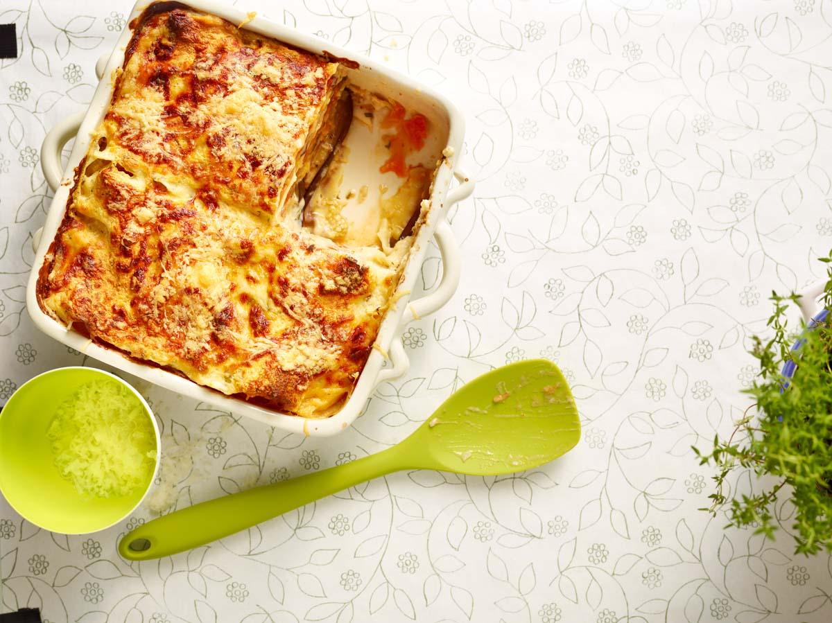 Leichte Sommerküche Vegetarisch : Vegetarische auberginen lasagne gu