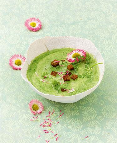 Neun Kräuter Suppe - aus Magische Suppen von Marion Grillparzer