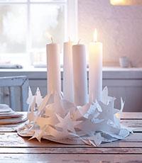 Adventskranz Girlande Kreative Weihnachtsideen Zum Selbermachen GU