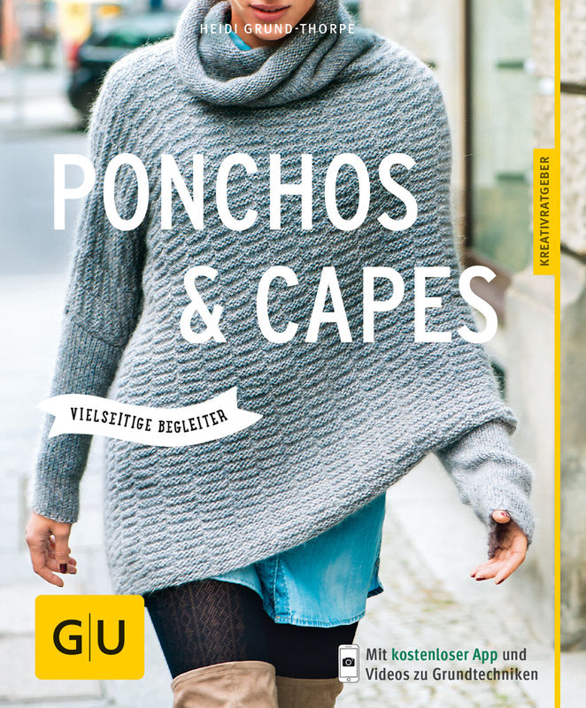 ponchos und capes stricken buch gu. Black Bedroom Furniture Sets. Home Design Ideas