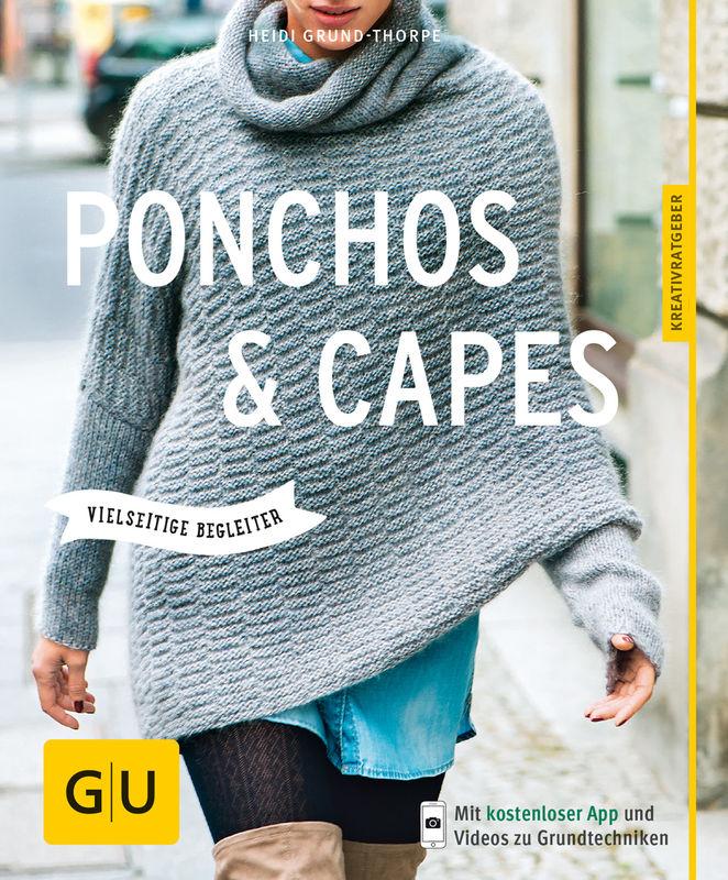ponchos und capes stricken buch gu. Black Bedroom Furniture Sets. Home Design Ideas