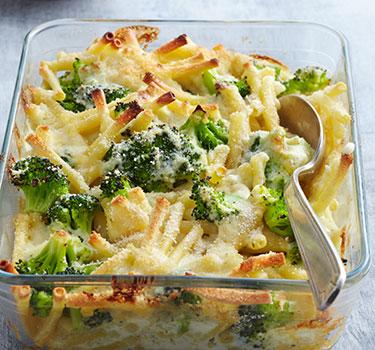 Schnelle Küche: Brokkoli Makkaroni Auflauf