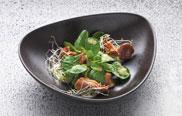 Teubner Vegetarisch - Feldsalat und Pfifferlinge