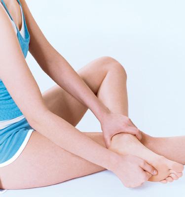 Reflexzonen-Massage bei Kopfschmerzen