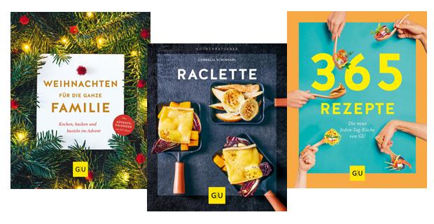 Kochbücher für Ihr Feiertagsmenü