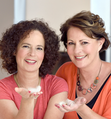 Autorenfoto: Stefanie Stahl und Julia Tomuschat