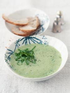Alte Gemüsesorten: Sauerampfersuppe