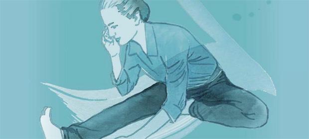 Yoga im Alltag: Telefonieren