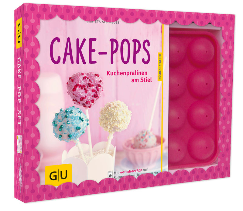 cake pop set buch gu. Black Bedroom Furniture Sets. Home Design Ideas