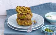 Linsen-Lauch-Frikadellen aus Expresskochen vegan