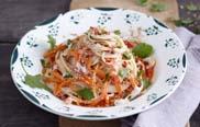 Möhren-Haselnuss-Spaghetti aus Expresskochen vegan