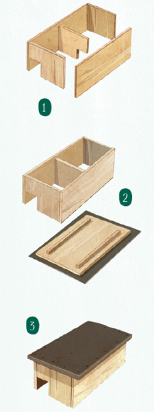 so bauen sie eine igel burg gu. Black Bedroom Furniture Sets. Home Design Ideas