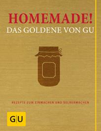 Buchcover - Homemade! Das Goldene von GU