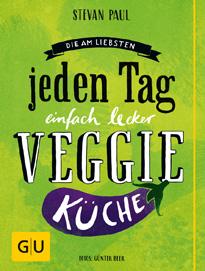 Cover - Die Am-liebsten-jeden-Tag-einfach-lecker-Veggie-Küche -  Günter Beer, Stevan Paul