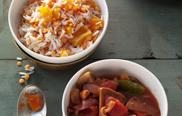 Seitan-Gulasch - Veggie-Küche